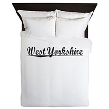 West Yorkshire, Aged, Queen Duvet