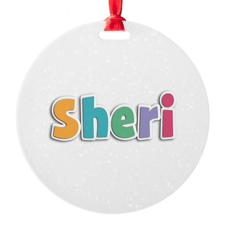 Sheri Spring11 Round Ornament