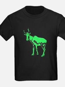 The Neon Green Bubal Hartebeest T