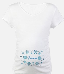 Custom name Snowflakes Shirt