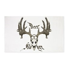 Deer slayer 1 3'x5' Area Rug