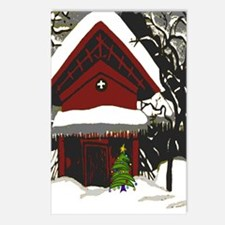 Japanese Style House Christmas Postcards (Package