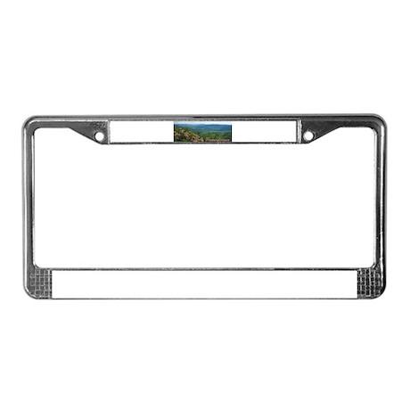 Pennsylvania Mountain Laurel License Plate Frame