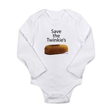 Save The Twinkie's Long Sleeve Infant Bodysuit