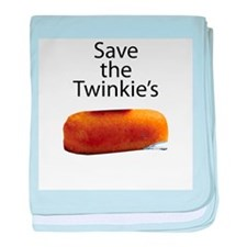 Save The Twinkie's baby blanket