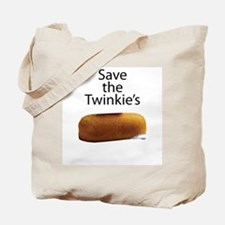 Save The Twinkie's Tote Bag