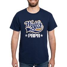 Papa (Worlds Best) T-Shirt