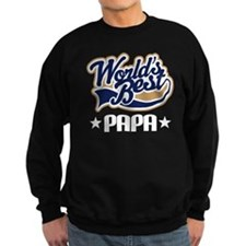 Papa (Worlds Best) Sweatshirt