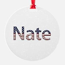 Nate Stars and Stripes Ornament