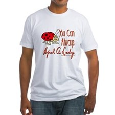 Spot A Lady Fitted T-Shirt
