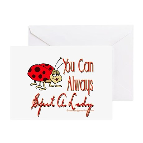 Spot A Lady Greeting Cards (Pk of 10)