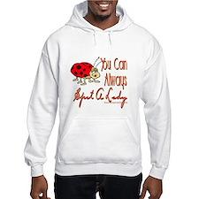 Spot A Lady Hooded Sweatshirt