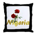 Nigeria Goodies Throw Pillow