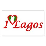 Nigeria Goodies Rectangle Sticker