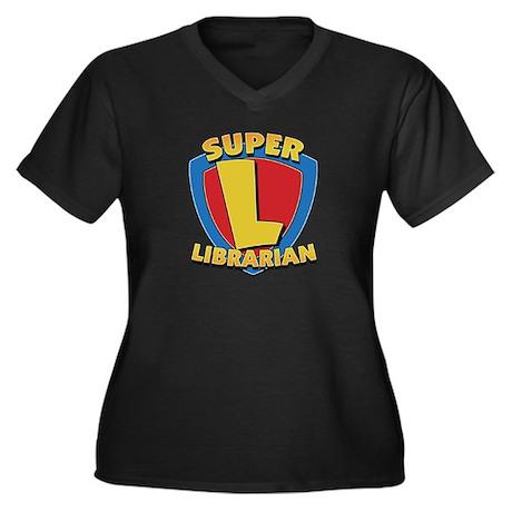 SuperLibrarianDrkT Plus Size T-Shirt
