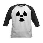 Radioactive Symbol Kids Baseball Jersey