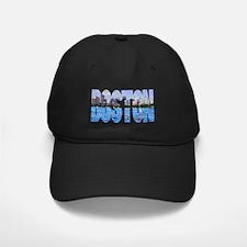 Boston Back Bay Skyline Baseball Hat