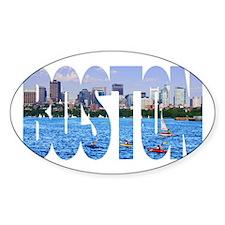 Boston Back Bay Skyline Decal