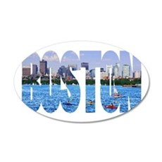 Boston Back Bay Skyline Wall Decal