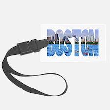 Boston Back Bay Skyline Luggage Tag