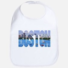 Boston Back Bay Skyline Bib