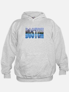 Boston Back Bay Skyline Hoodie