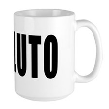l love pluto Mug