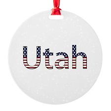 Utah Stars and Stripes Ornament