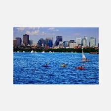 Boston Back Bay Skyline Charles River Rectangle Ma