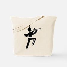 Trumpet Tote Bag