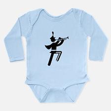 Trumpet Long Sleeve Infant Bodysuit