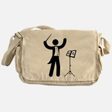 Music Conductor Messenger Bag