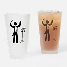 Music Conductor Drinking Glass