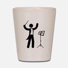 Music Conductor Shot Glass