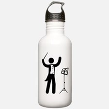 Music Conductor Water Bottle