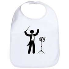 Music Conductor Bib