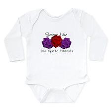 Someone I Love has CF Long Sleeve Infant Bodysuit