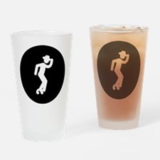Moonwalking Drinking Glass