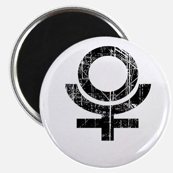 Pluto symbol Magnet