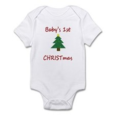 Baby's first CHRISTmas Infant Bodysuit