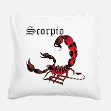 Scorpio Square Canvas Pillow