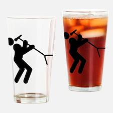 Singer Drinking Glass