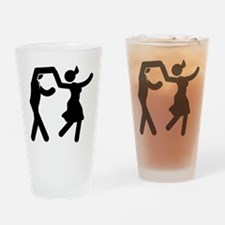 Swing Dancing Drinking Glass