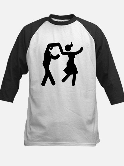 Swing Dancing Kids Baseball Jersey