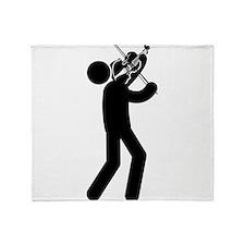 Violinist Throw Blanket