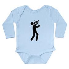Violinist Long Sleeve Infant Bodysuit