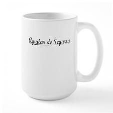 Aguilar de Segarra, Aged, Mug