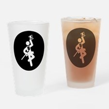 Tap Dancing Drinking Glass