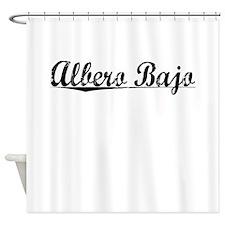 Albero Bajo, Aged, Shower Curtain