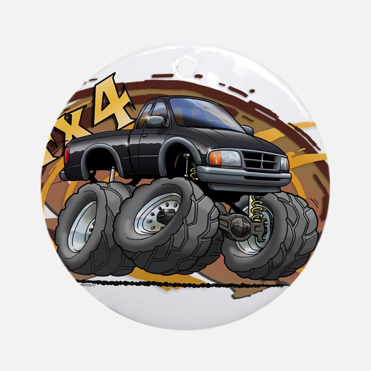 Black Ranger Ornament (Round)